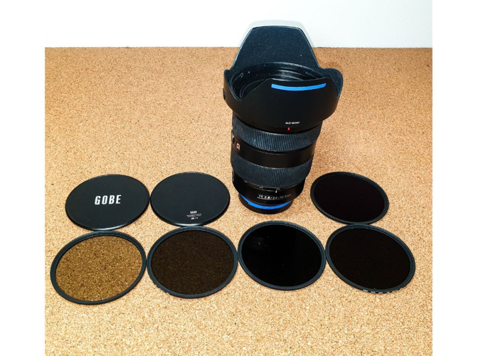 Sony FE 24-70mm f/2.8 GM G Master Lens + ND Filters - 1