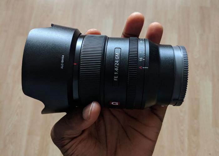 Sony FE 24mm F1.4 GM - 1