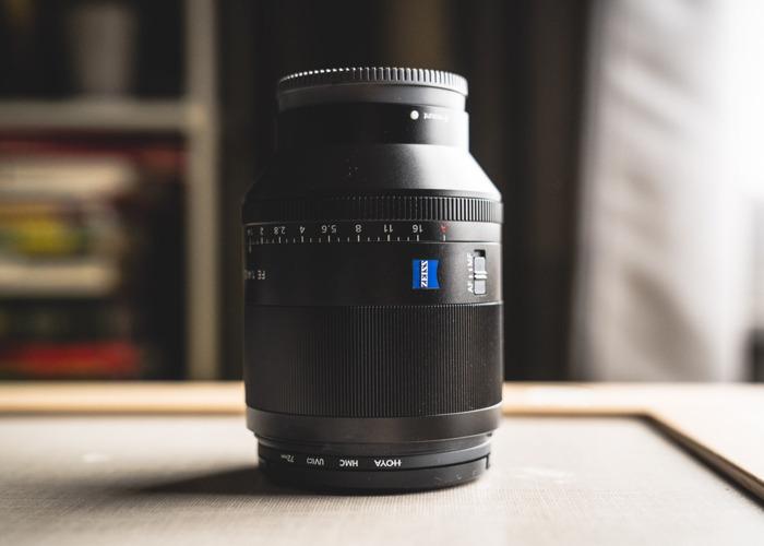 Sony FE 50mm f/1.4 ZA Lens - 1
