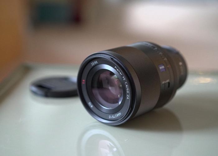 Sony FE 50mm f1.4 Zeiss ZA Lens - 1
