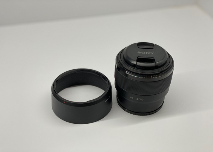Sony FE 50mm f1.8 lens - 1