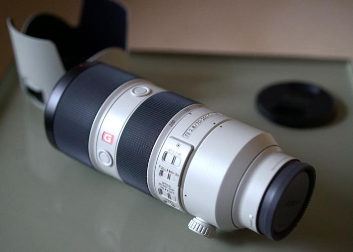 Sony FE 70-200 f2.8 GM OSS Lens E mount - 1