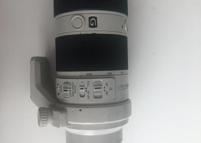 Sony FE 70-200mm f/4 G OSS Lens - 1