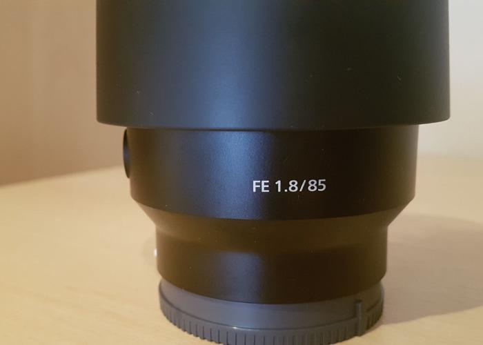 Sony FE 85mm F1.8 - 1
