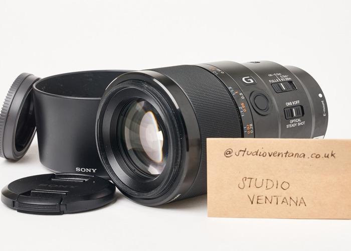 Sony FE 90mm f2.8 Macro G OSS Lens - 2