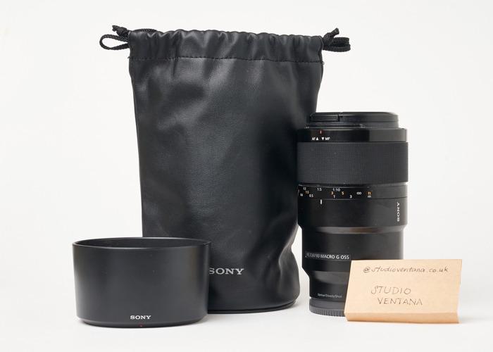 Sony FE 90mm f2.8 Macro G OSS Lens - 1