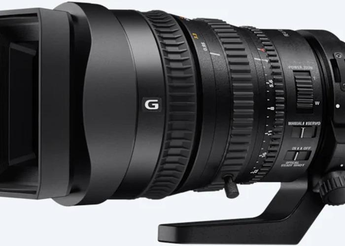 Sony FE PZ 28-135mm f4 G OSS Lens - 1