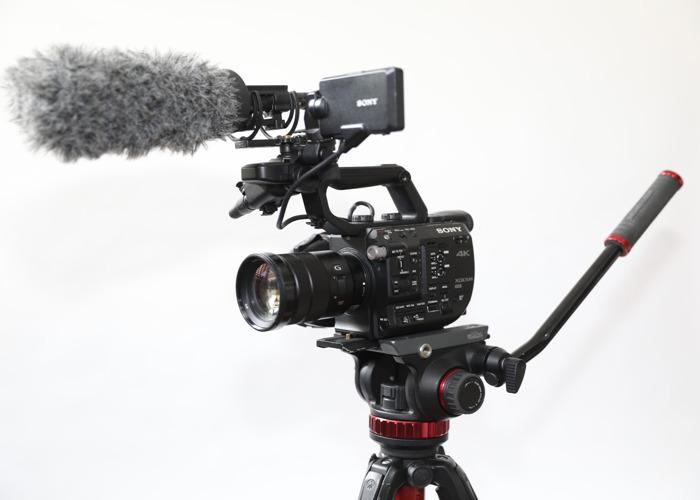 Sony FS5 Camera 4K Kit F4 18-105mm Lens canon 7 A ii - 1