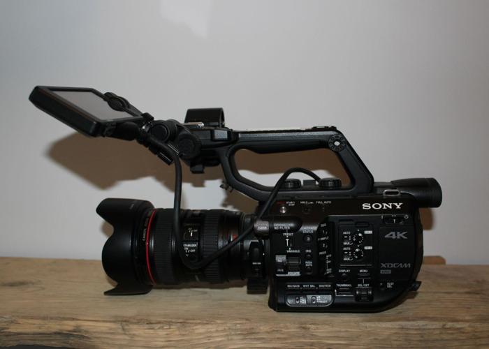 Sony fs5 with RAW Upgrade - 1