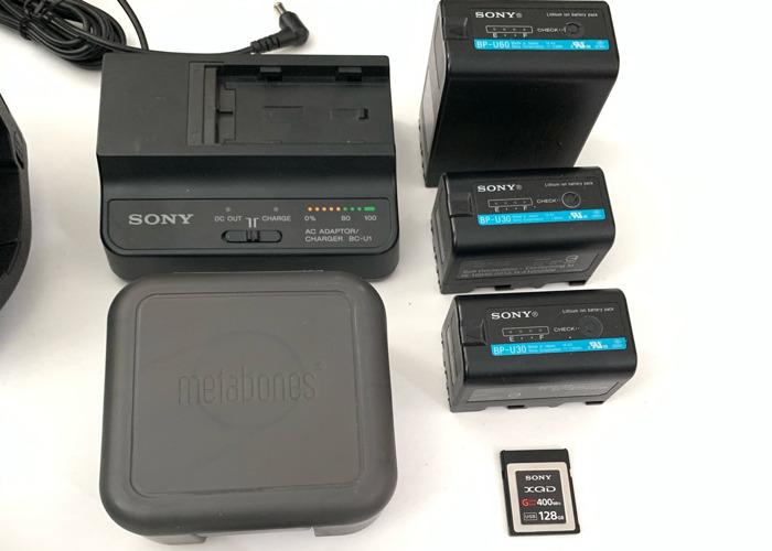 Sony FS7 Camera Kit + Canon 24-70mm 2.8 +Tripod +Mic 5 4k - 2