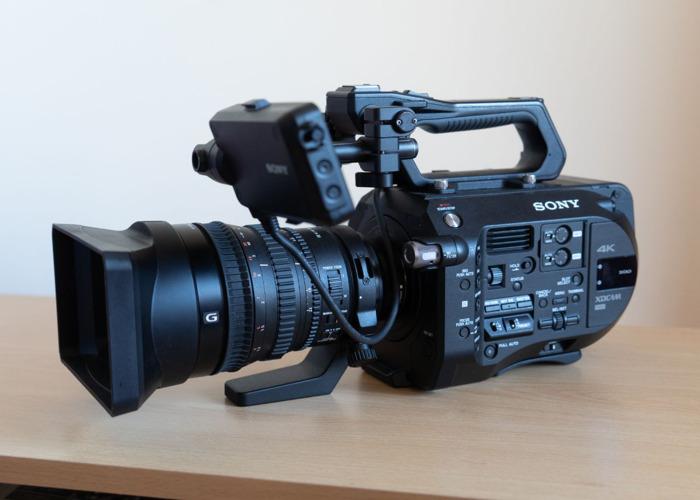 Sony FS7 4K Camera Kit with Cine Lens - 1