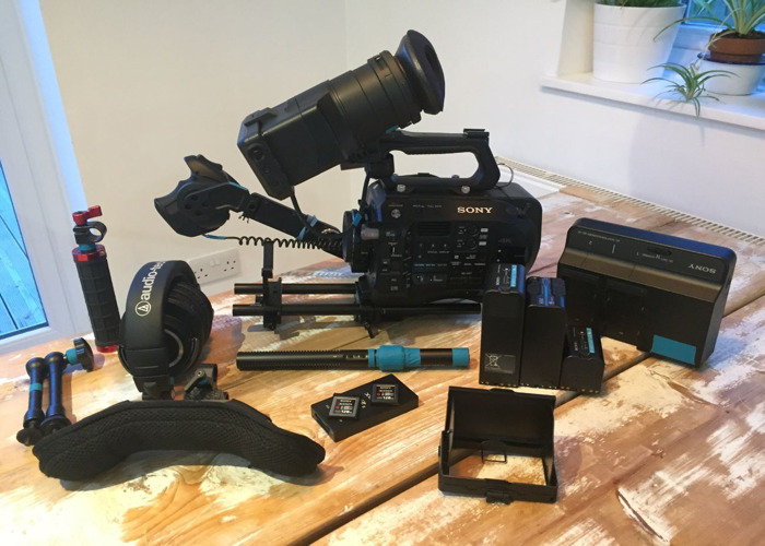 Rent Sony FS7 m2 Camera Kit (Body/Speed Booster/Batteries/Rig) in Singapore