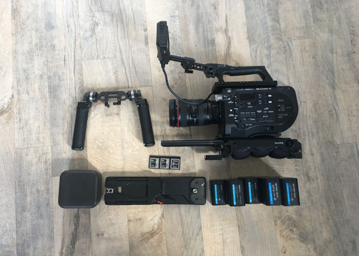Sony Fs7 with Canon 24-105 - Ready To Shoot - 1