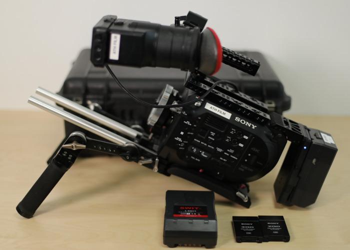 Sony FS7: Shoulder Rig + V-Lock + Metabones  - 1