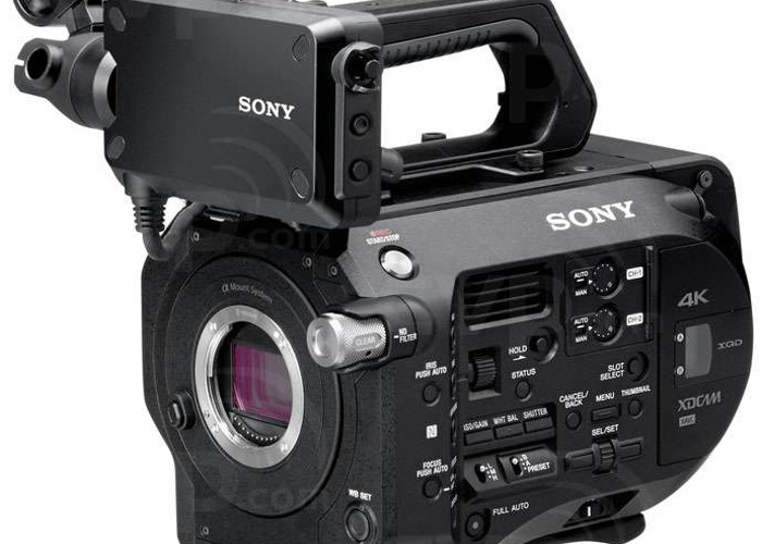 Sony FS7: Shoulder Rig + V-Lock + Metabones  - 2