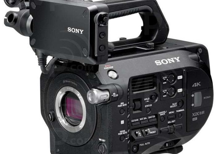 Sony FS7: Standard + Metabones - 2