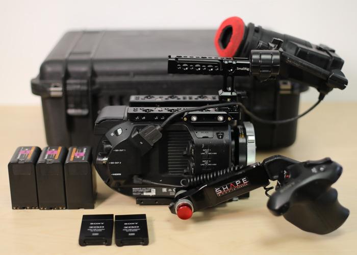 Sony FS7: Standard + Metabones - 1