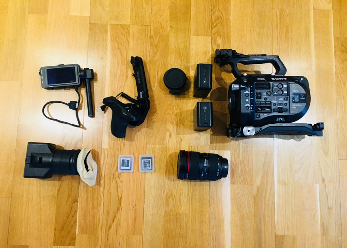 Sony FS7 with Canon 24-70mm Zoom Lens - 1