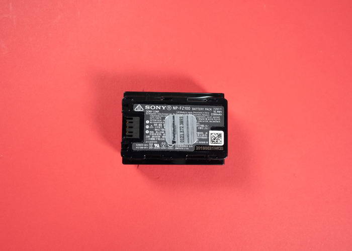 Sony FZ-100 Battery For Sony A7iii MORE THAN ONE AVAILABLE - 2