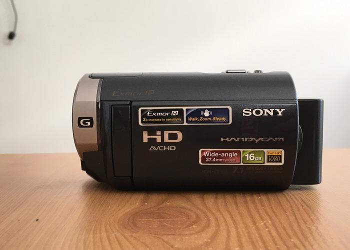 Sony Handycam HDR-cx305 - 2