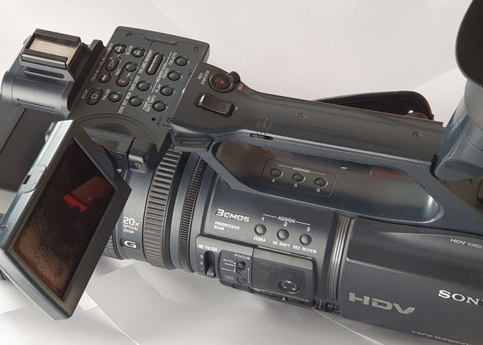 SONY HDR-FX1000 professional cam - 2