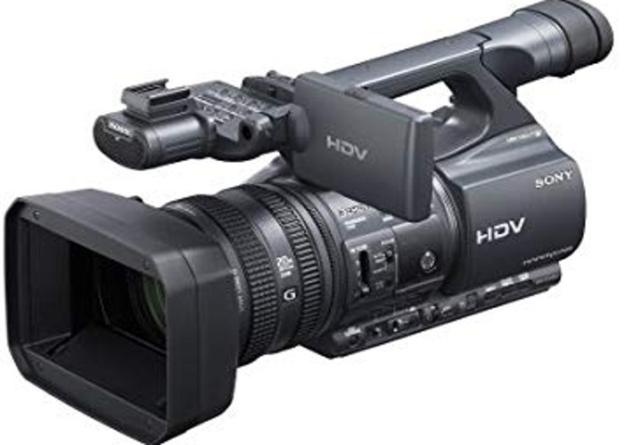 SONY HDR-FX1000 professional cam - 1
