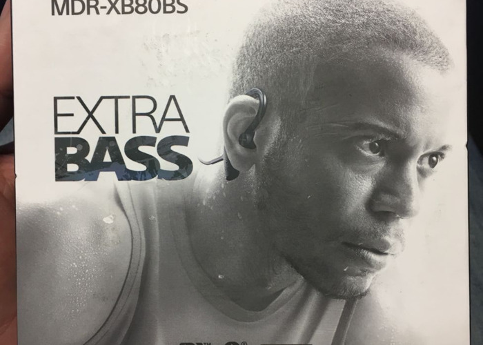 Sony MDR-XB80BS Sport Headphone  - 1