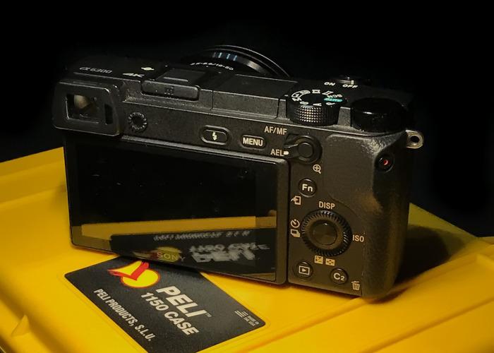 Sony Mirrorless A6300 16-50mm 4K Pelican Case! - 2