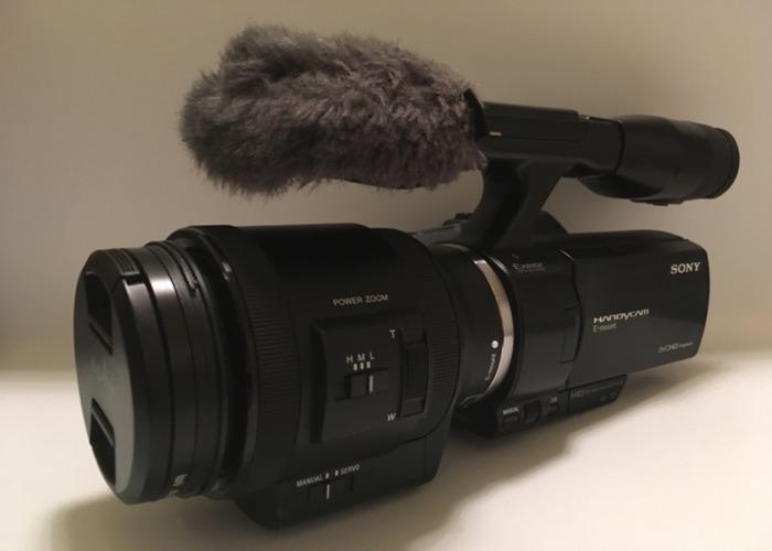 Sony NEX VG30 Camcorder - 1