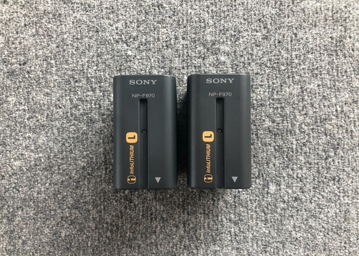 Sony NP-F970 L-Series Rechargeable Battery Pack (2x) - 1