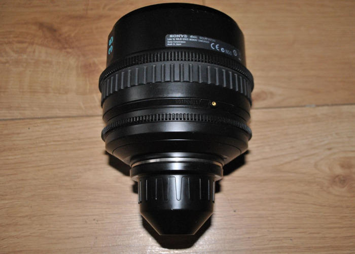 Sony PL mount lens: 35mm - 2
