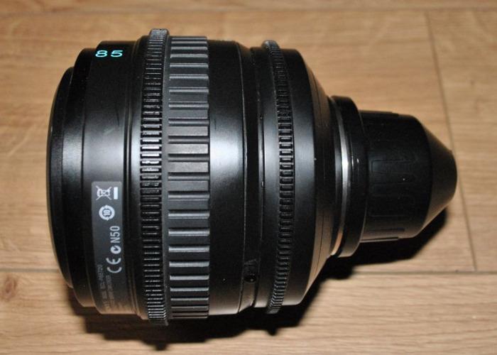 Sony PL mount lens: 85mm - 1