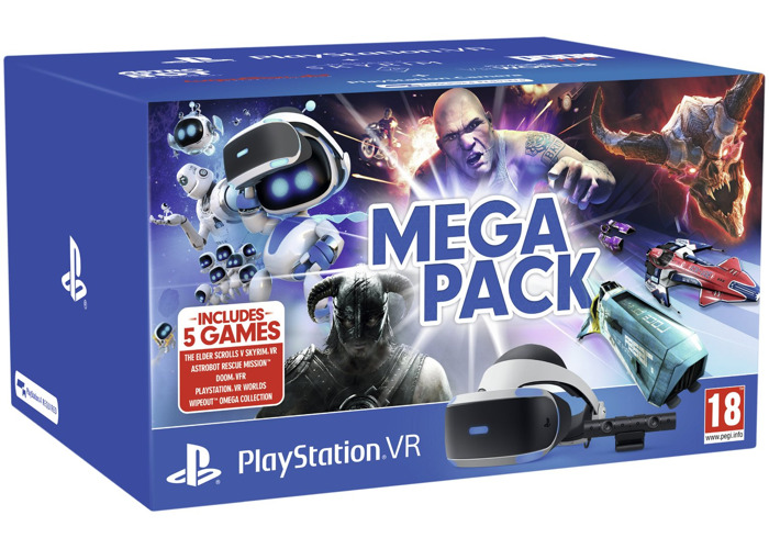 Sony Playstation VR Mega Pack Bundle - 1