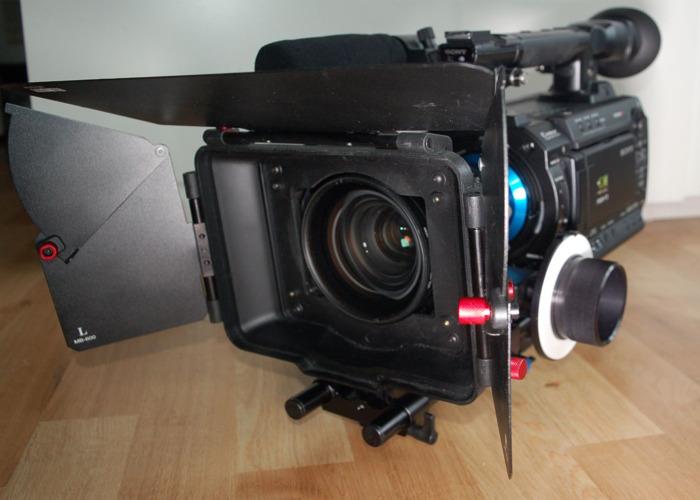 Sony PMW-F3 & accessories: lenses, matte box, fellow focus.. - 2