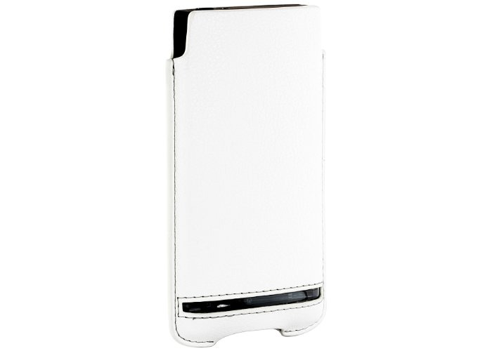 Sony Premium Pouch Case for Sony Xperia S by Roxfit - White - 1