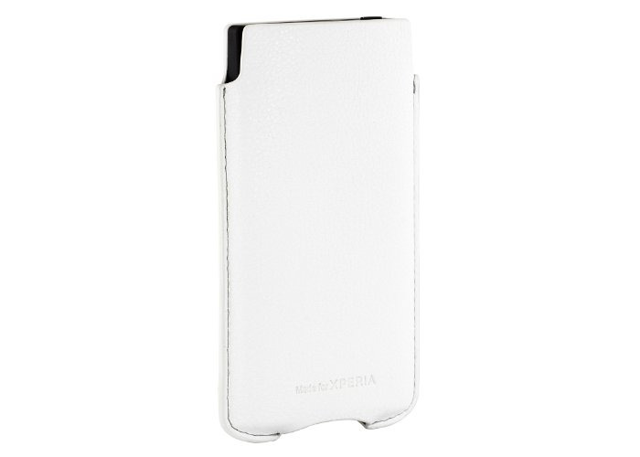 Sony Premium Pouch Case for Sony Xperia S by Roxfit - White - 2