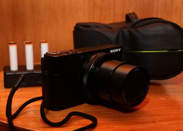 Sony RX100V + 4 batteries+ case - 2