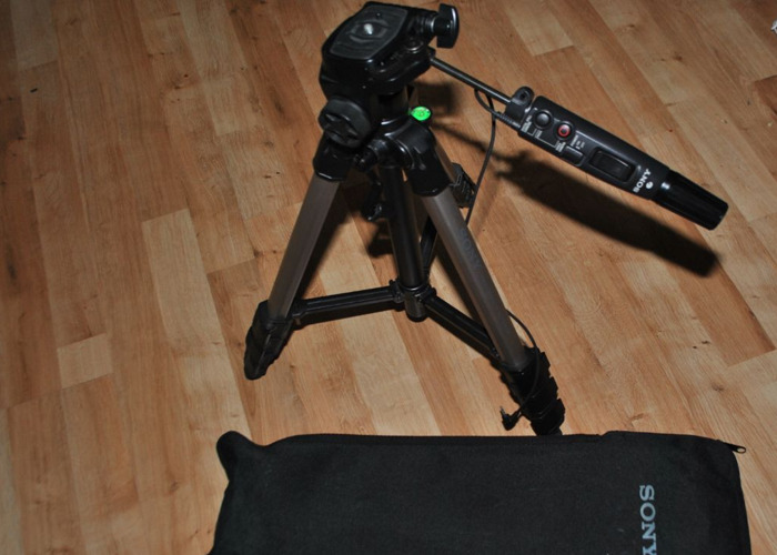 Rent Sony Tripod With Remote Commander (Sony VCT-D680RM) in Garner