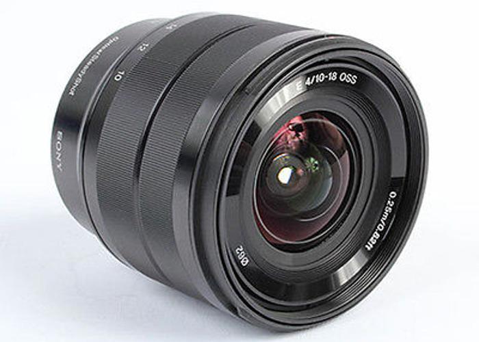 Sony Ultra Wide 10-18mm OSS F4 E-mount Lens - 2