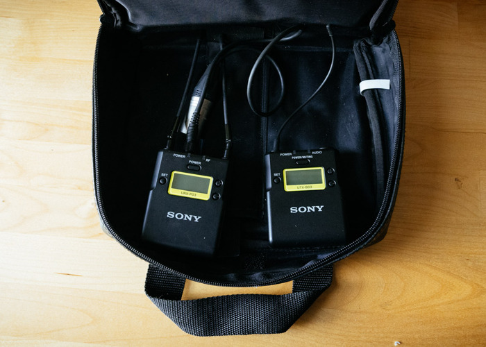 Sony UWP-D11 wireless system with Tram mic - 1