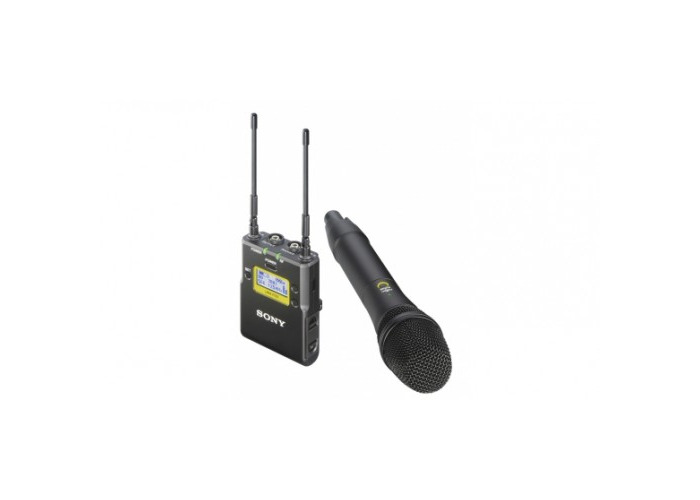 buy sony uwp d12 wireless microphone package with handheld transmitter fat llama. Black Bedroom Furniture Sets. Home Design Ideas