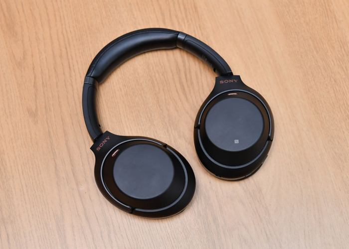 Sony WH-1000XM3 Wireless Noise Cancelling Headphones - 1