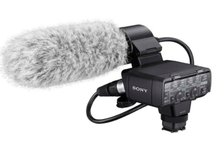 SONY XLR audio adapter & microphone (SONY A7 series & RX) - 1