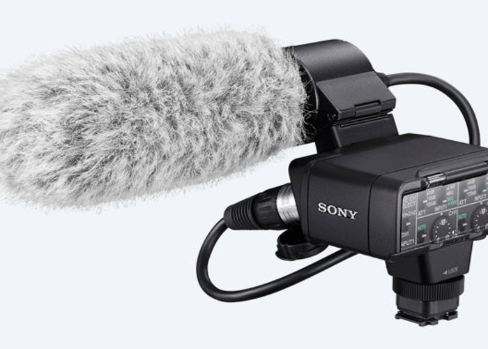 Sony XLR K2M and Sony ECM XM1 gun microphone - 1