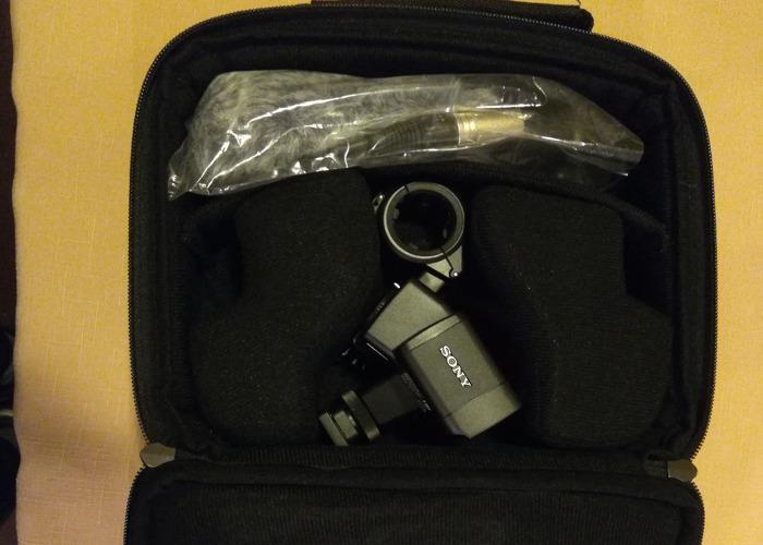 Sony XLR-K2M Adapter (A7SII, A7III etc)  - 2