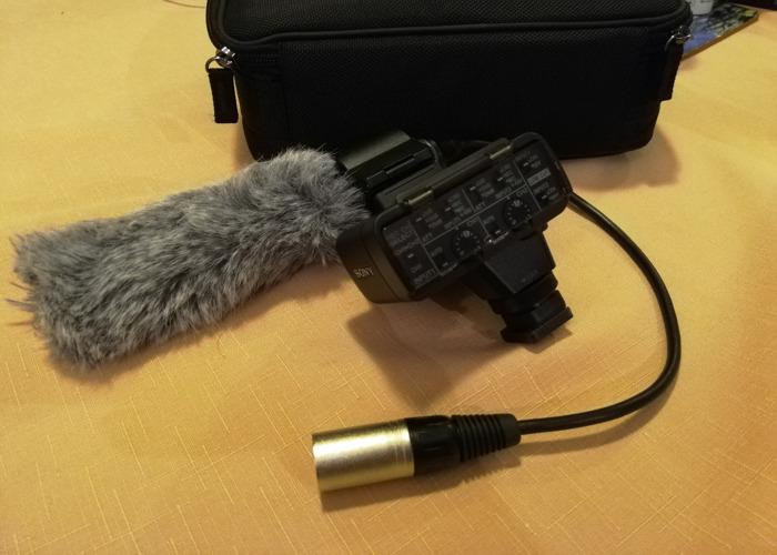 Sony XLR-K2M Adapter (A7SII, A7III etc)  - 1