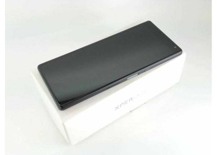 SONY XPERIA 10 I3113 64GB PRISTINE CONDITION 13MP CAMERA 4G BLACK UNLOCKED - 1