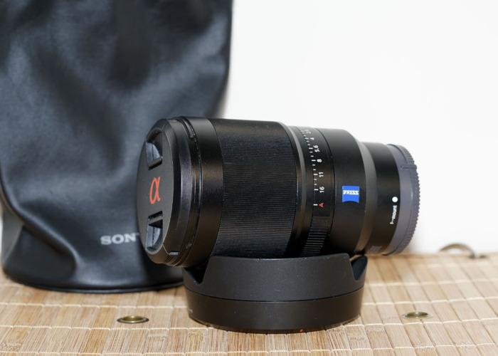 Sony Zeiss 35mm f1.4 Distagon SEL35F14Z EMount - 2