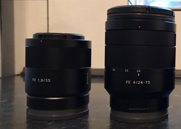 SONY ZEISS Lenses - 1