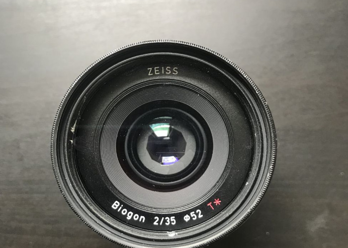 Sony Ziess Loxia 35mm F2 - 1
